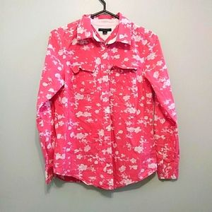 Tommy Hilfiger floral button down shirt